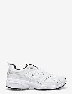 HERITAGE TOMMY JEANS SNEAKER - low tops - white