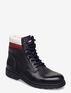 CLASSIC TOMMY JEANS LACE UP BOOT - laced boots - rwb