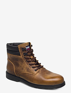 CLASSIC TOMMY JEANS LACE UP BOOT - laced boots - texas plains