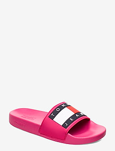 BUBBLE 2Y - pool sliders - blush red