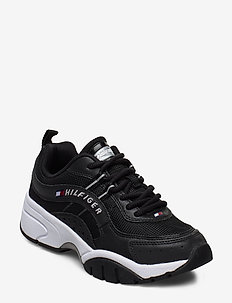 HERITAGE TOMMY JEANS - chunky sneakers - black