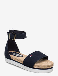 NATURAL ROPE SANDAL - flade sandaler - twillight navy