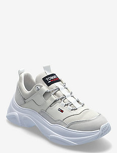 TOMMY JEANS LIGHTWEIGHT SHOE - chunky sneakers - white