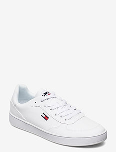 TOMMY JEANS CUPSOLE SNEAKER - low top sneakers - white