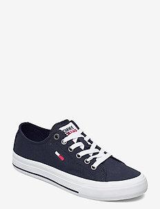 TOMMY JEANS LOW CUT VULC - low top sneakers - twilight navy