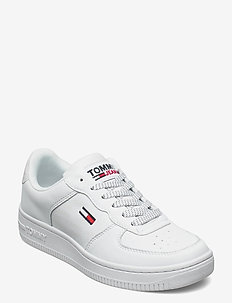 WMNS REFLECTIVE BASKET - low top sneakers - white