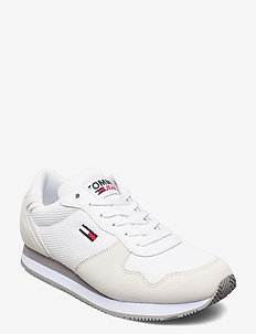 TOMMY JEANS MONO SNEAKER - low top sneakers - white