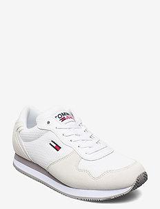 TOMMY JEANS MONO SNEAKER - niedrige sneakers - white
