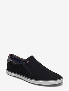 ICONIC SLIP ON SNEAKER - slip-on schoenen - black