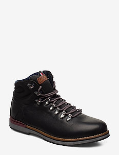 OUTDOOR HIKING LACE BOOT - BLACK