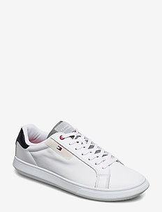 ESSENTIAL LEATHER CUPSOLE - white
