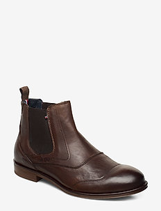 DRESS CASUAL LEATHER CHELSEA - chelsea boots - nomad