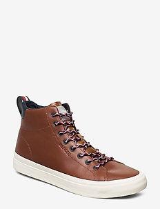 PREMIUM HIGH VULC COGNAC - høje sneakers - natural cognac