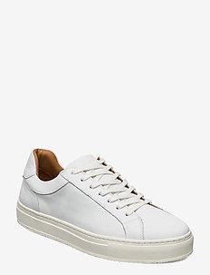 PREMIUM CUPSOLE LEATHER - lave sneakers - white