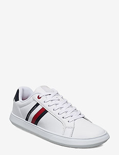 ESSENTIAL LEATHER CUPSOLE - lav ankel - white