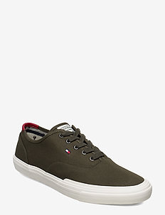 CORE OXFORD TWILL SNEAKER - lave sneakers - army green