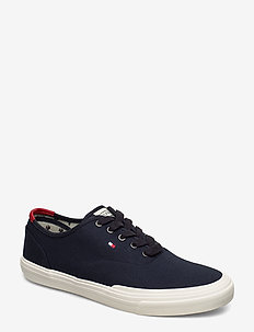 CORE OXFORD TWILL SNEAKER - DESERT SKY