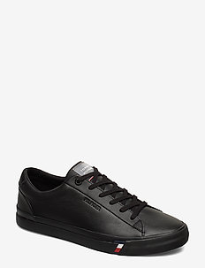 CORPORATE LEATHER SNEAKER - lave sneakers - black