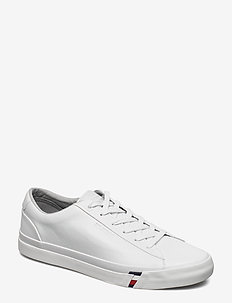 CORPORATE LEATHER SNEAKER - WHITE