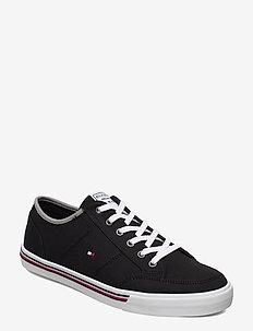 CORE CORPORATE TEXTI - lave sneakers - black
