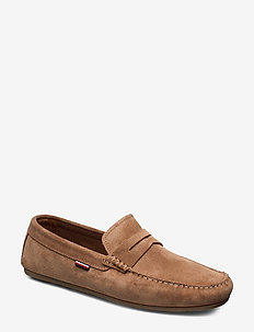 CLASSIC SUEDE PENNY LOAFER - CLASSIC KHAKI