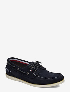 CLASSIC SUEDE BOATSHOE - boat shoes - desert sky