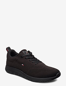CORPORATE KNIT RIB RUNNER - lave sneakers - black