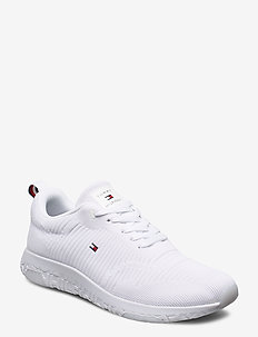 CORPORATE KNIT RIB RUNNER - lave sneakers - white
