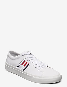 CORPORATE LEATHER SNEAKER - low tops - white