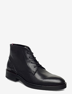PREMIUM TAILOR DERBY BOOT - laced shoes - black