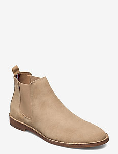 DRESSY STITCHDOWN SUEDE CHELSEA - chelsea boots - camel