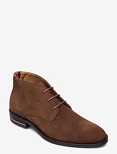 SIGNATURE HILFIGER SUEDE BOOT - desert boots - timber