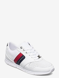 LIGHTWEIGHT LEATHER SNEAKER - low top sneakers - rwb