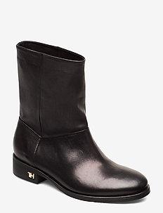 MONO COLOR FLAT BOOT - flate ankelstøvletter - black
