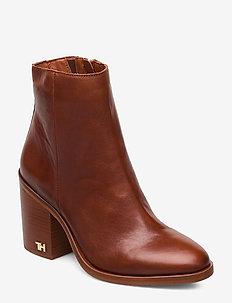 MONO COLOR HEELED BOOT - ankelstøvletter med hæl - rust