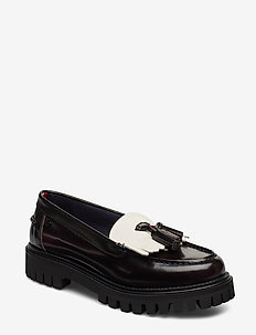 ICONIC POLISHED LOAFER - loafers - black iris