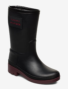 WARMLINED RAINBOOT - varmforet sko - black