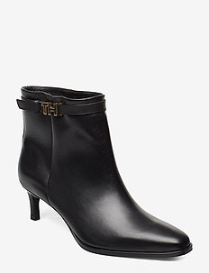 ELEVATED TH  HARDWARE BOOTIE - ankelstøvler med hæl - black