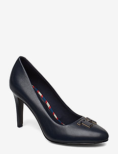 ESSENTIAL LEATHER PUMP - klassiske pumps - midnight