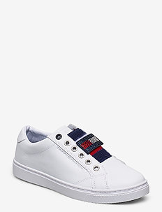 TOMMY CUSTOMIZE SLIP ON SNEAK - slip-on sneakers - white