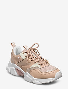 CHUNKY LIFESTYLE GLIT SNEAKER - chunky sneakers - misty blush