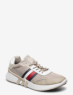 TOMMY SPORTY BRANDED - lage sneakers - stone