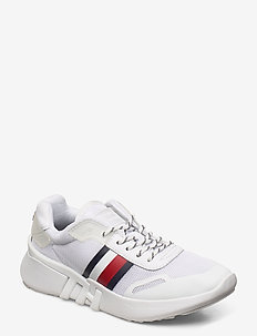 TOMMY SPORTY BRANDED - lave sneakers - white