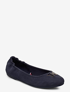 TH HARDWARE BALLERINA - ballerinas - sport navy