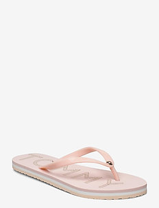 TOMMY FOOTBED FLAT B - pale pink