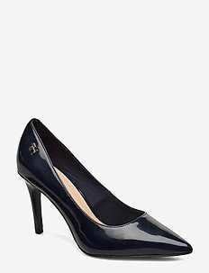 FEMININE PATENT HIGH HEEL PUMP - klassiske pumps - desert sky