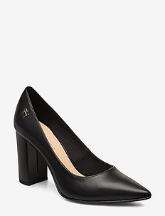 FEM LEATHER HIGH HEEL PUMP - klassiske pumps - black