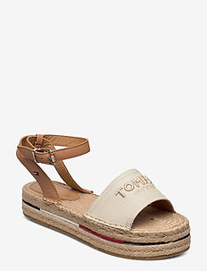 TROPICAL FADE OPENED ESPADRILLE - flade espadrillos - ivory