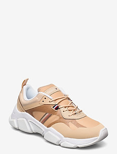TECHNICAL CHUNKY TOMMY SNEAKER - chunky sneakers - light gold
