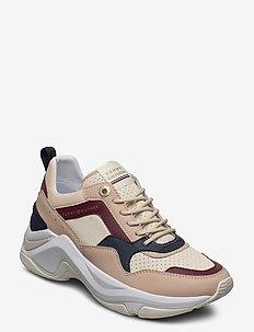 FEMININE INTERNAL WEDGE SNEAKER - lave sneakers - ivory